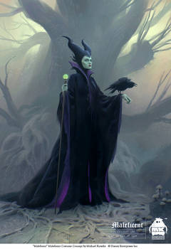 Maleficent Costume Concept