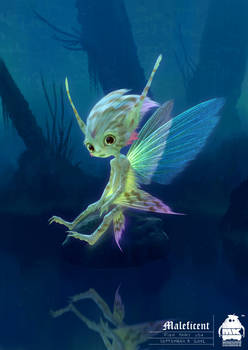 Maleficent: Fish Fairy Character Design