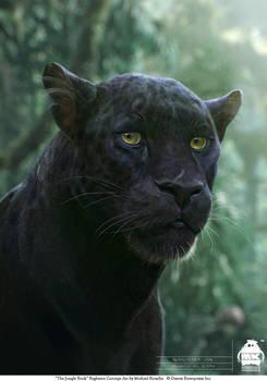 The Jungle Book: Bagheera concept