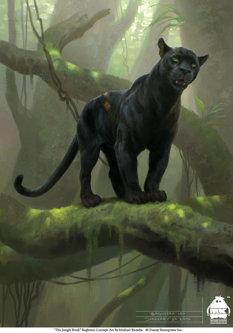 The Jungle Book: Bagheera concept by michaelkutsche