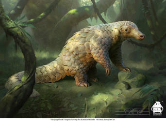 The Jungle Book: Pangolin concept