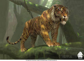 The Jungle Book: Shere Khan concept by michaelkutsche