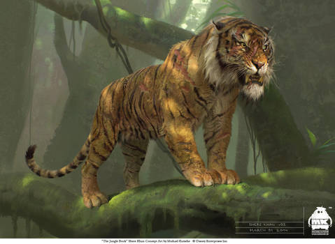 The Jungle Book: Shere Khan concept