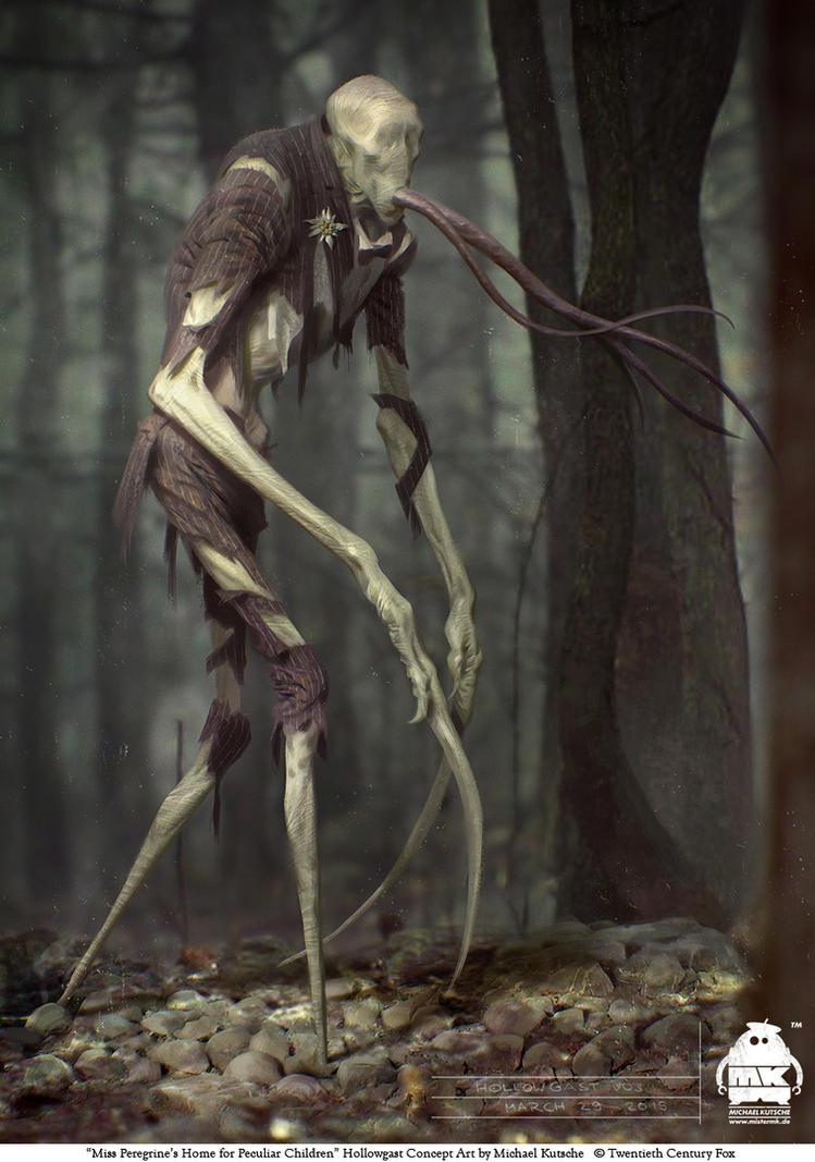 Miss Peregrine's Home: Hollowgast Concept by michaelkutsche