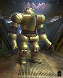 Guardians of the Galaxy Vol. 2: Envoy Concept by michaelkutsche