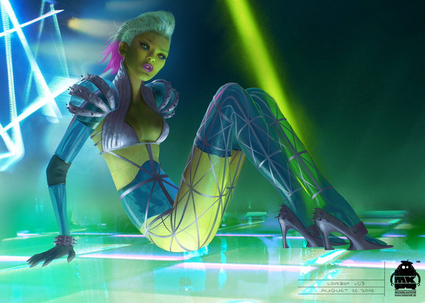 Guardians of the Galaxy Vol. 2: Lovebot Concept by michaelkutsche