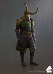 Thor: Ragnarok - Early Loki Costume Concept by michaelkutsche