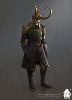 Thor: Ragnarok - Early Loki Costume Concept