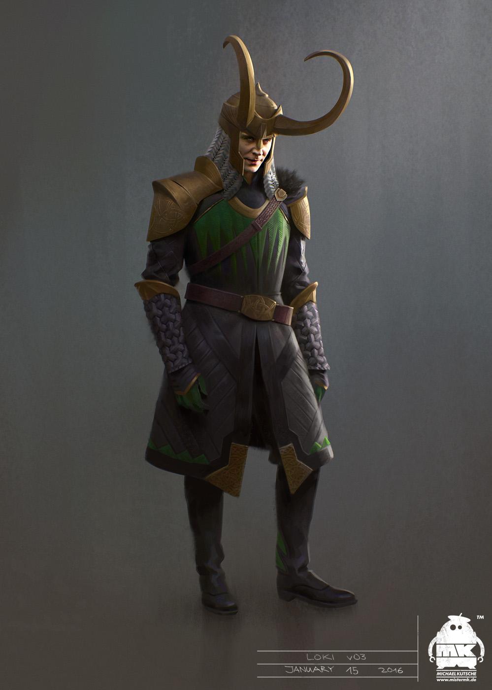 Thor: Ragnarok - Early Loki Costume Concept by michaelkutsche