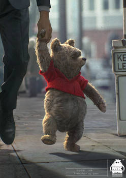 Christopher Robin - Pooh Character Design
