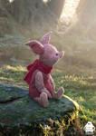 Christopher Robin: Piglet character design