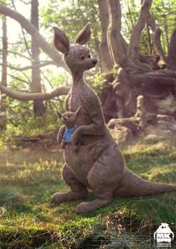 Christopher Robin: Kanga + Roo Character Design