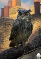Christopher Robin: Owl Character Design