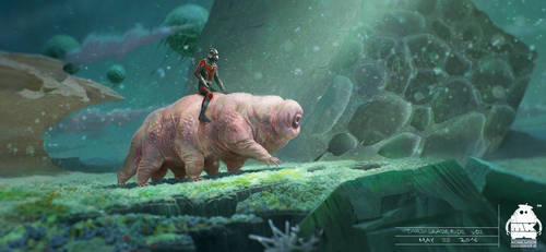 Ant Man and the Wasp - Tardigrade Ride Key Frame
