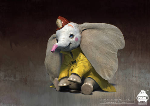Dumbo: Fire Man Concept