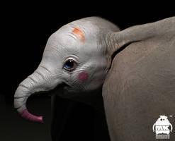 Dumbo: Clown Makeup Concept