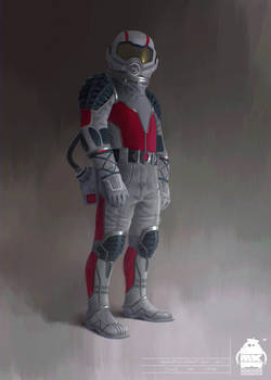 Ant Man and the Wasp - Quantum Realm Suit Concept