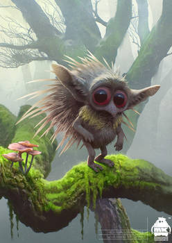 Maleficent 2: Hedgehog Fairy Character Design