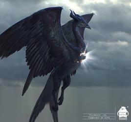 Maleficent 2: Phoenix Creature Design