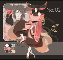 .:CLOSED:. Chinese Adoptable - no 2 by chisei-adopts