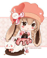 .:CLOSED:. Adoptable - Fluffbebe #1 by chisei-adopts