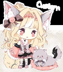 .:CUSTOM:. Adoptable - Fluffbebe #6 by chisei-adopts