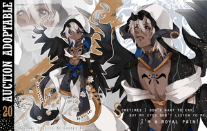 CLOSED TY!   Adoptable - TALUS Species n:20 by chisei-adopts