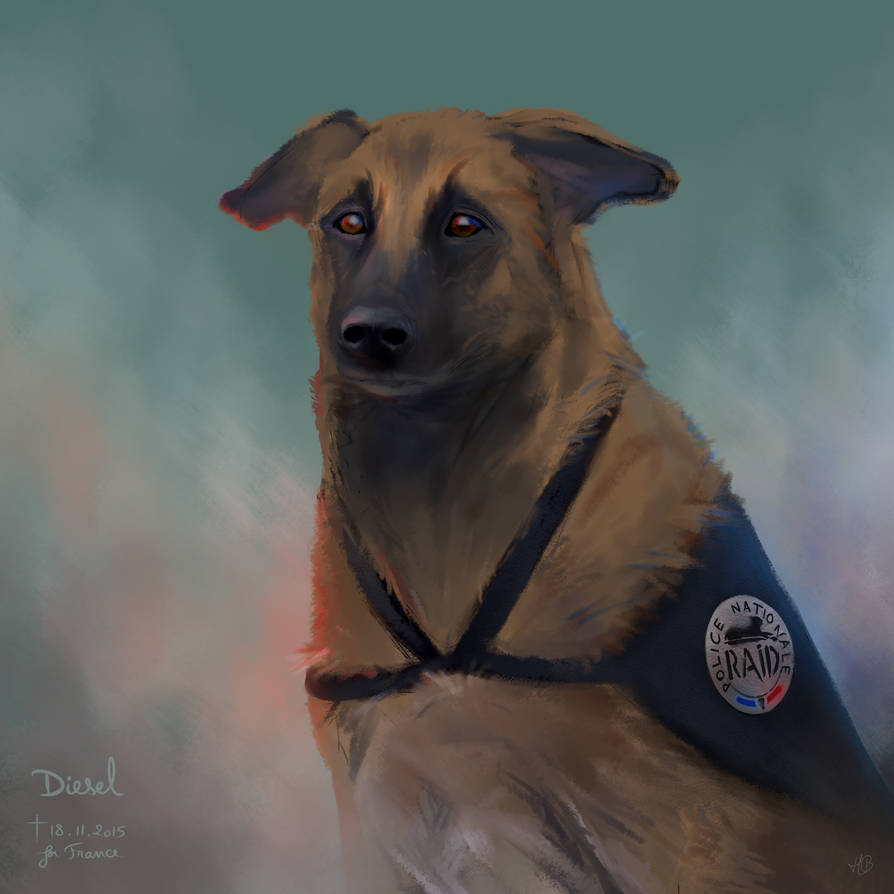 Diesel ~ Her Last Act of Bravery by Blunell