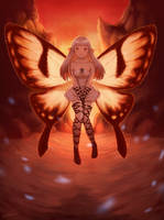 Flying Fairy by Blunell