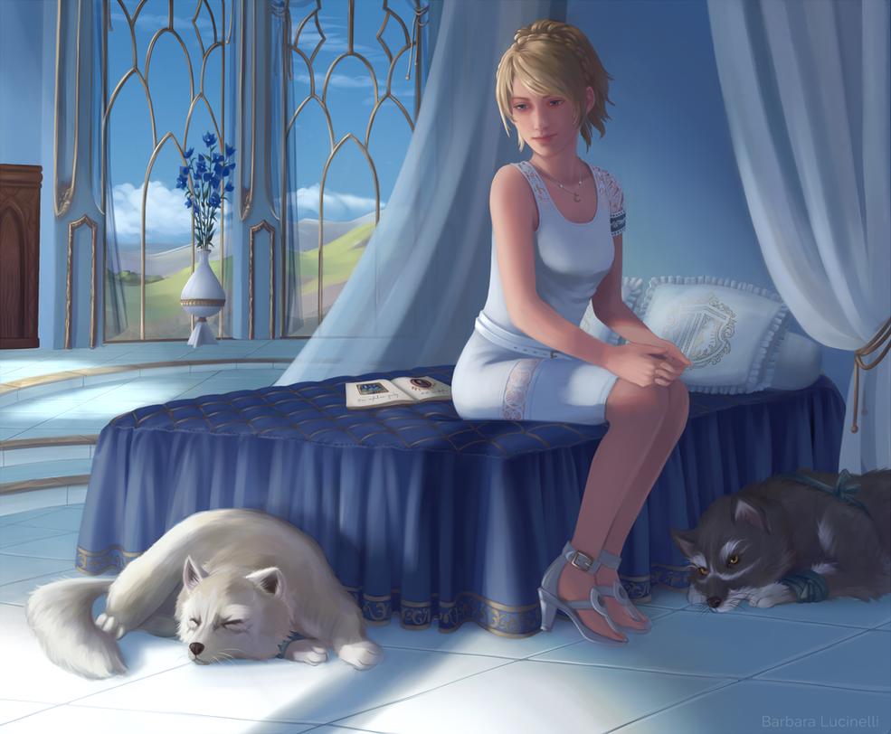 Lunafreya by Selven7
