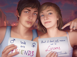 Friends, Not Lovers by Blunell