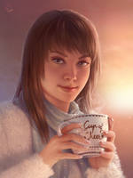 Cup of Cheer by Blunell