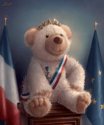 Teddy for President by Blunell