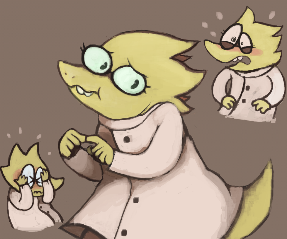 Alphys by hypostaticus