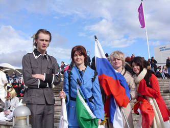 MCM Expo Oct '10 Hetalia Group by Narlth