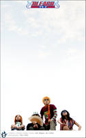 Bleach: Karakura Heroes by behindinfinity