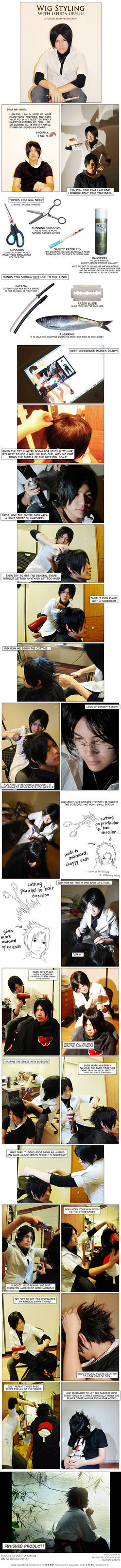 Wig Styling with Ishida Uryuu