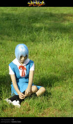 First Child: Rei Ayanami by behindinfinity