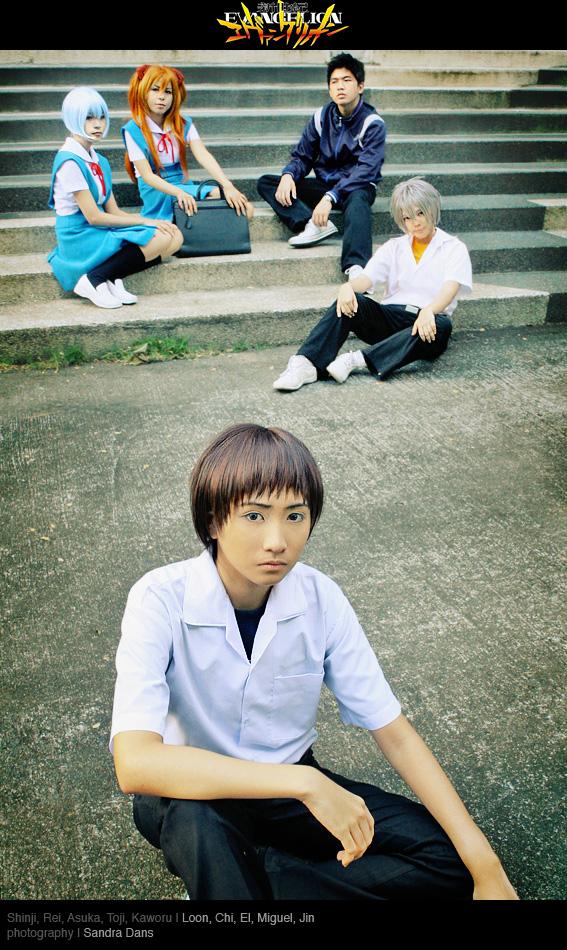 Third Child: Shinji Ikari by behindinfinity
