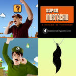 Tuxessories: Super Mustachio
