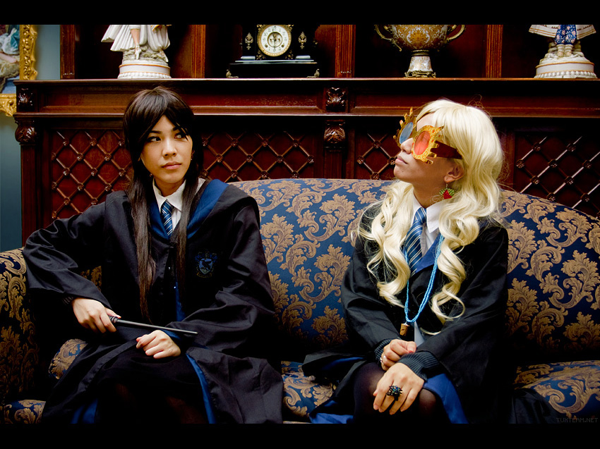 The Ravenclaw Common Room by behindinfinity on DeviantArt