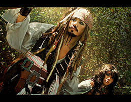 Jack and Angelica: On Stranger Tides by behindinfinity
