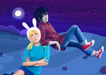 Adventure Time with Fionna and Marshall Lee