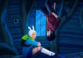 Fionna and Marshall Lee: Anytime You Want by behindinfinity