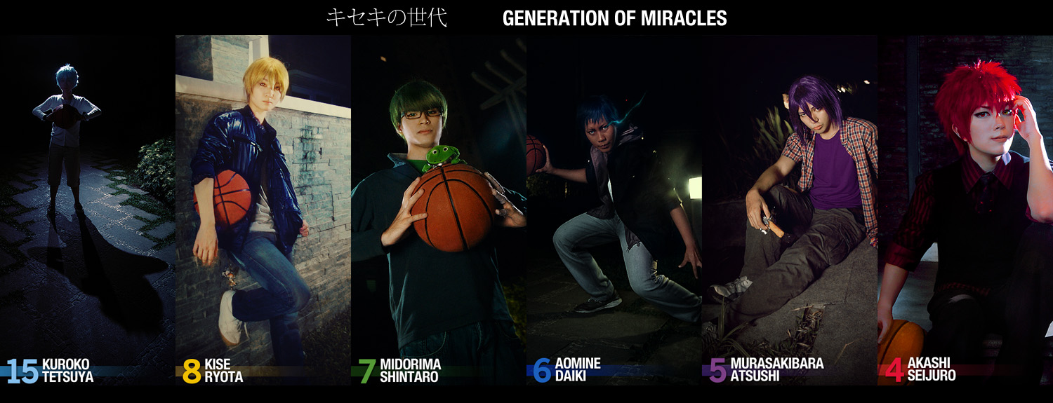 Generation of Miracles Casual Portraits by behindinfinity