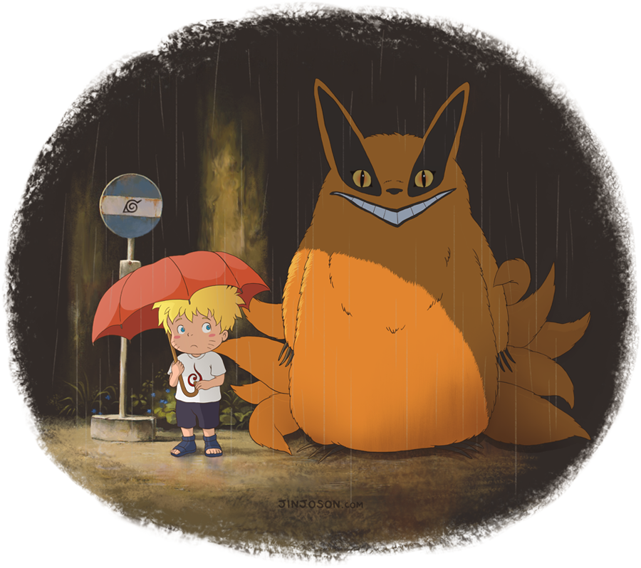 My Neighbor Kurama by behindinfinity