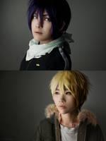 Noragami: Yato and Yukine