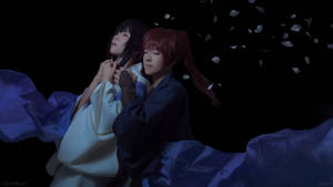 Kenshin and Tomoe: Goodbye