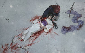 Kenshin and Tomoe: The Sound of Snow Falling
