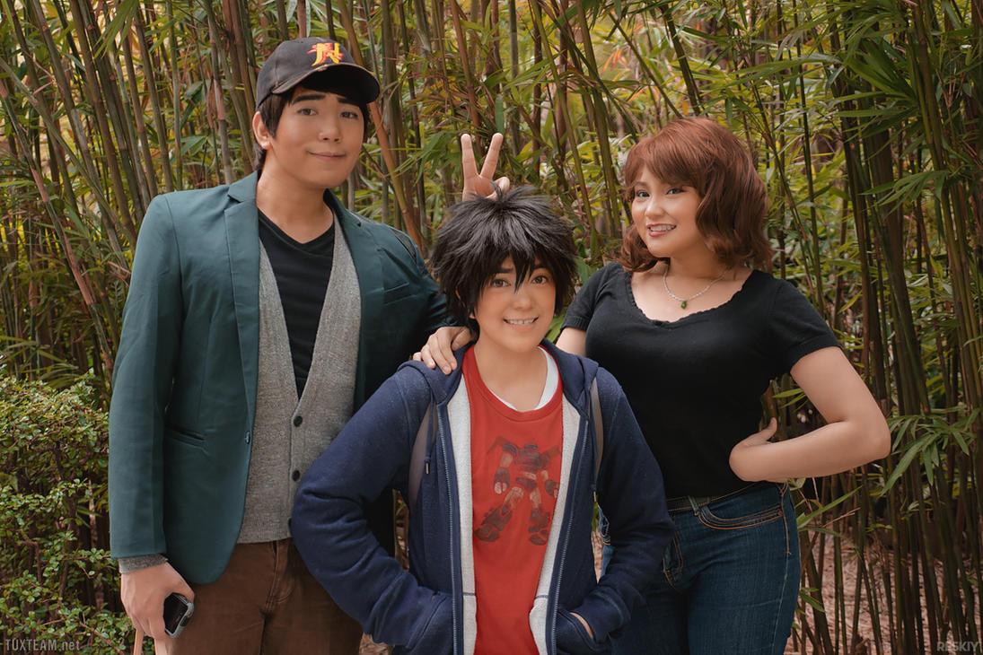 Big Hero 6: Hiro's Family by behindinfinity
